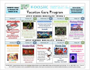 VC Program - Graphic pg 1